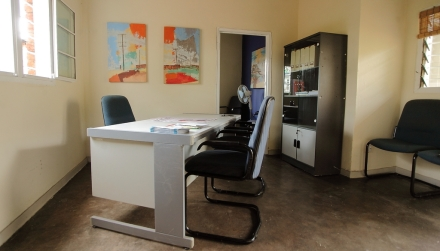 There is also a consultation room that is used to meet privately with complainants.
