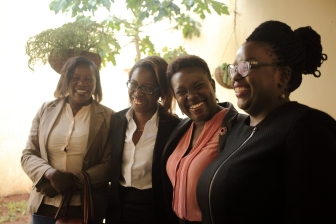 Members of WLA sharing a smile during the visit